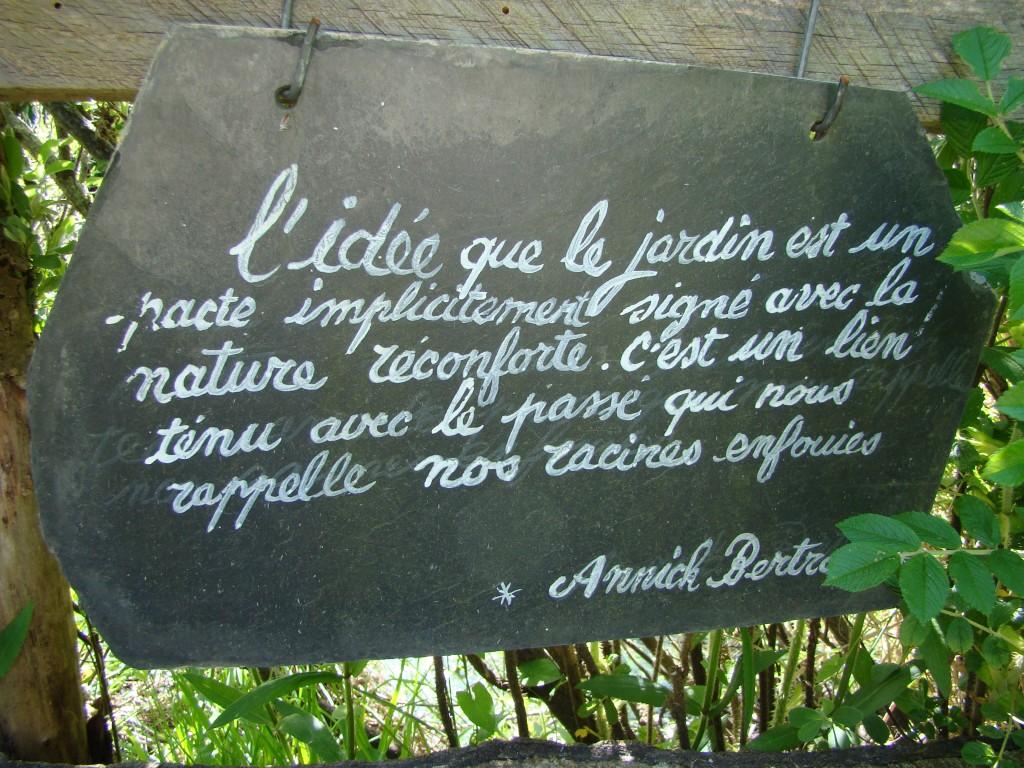Les Jardins du Marais, Presqu'île de Guérande, Annick Bertrand, in memoriam